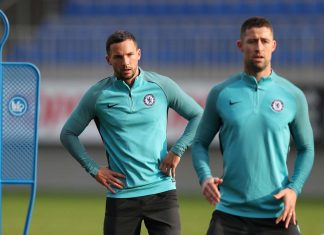 Gary Cahill Danny Drinkwater