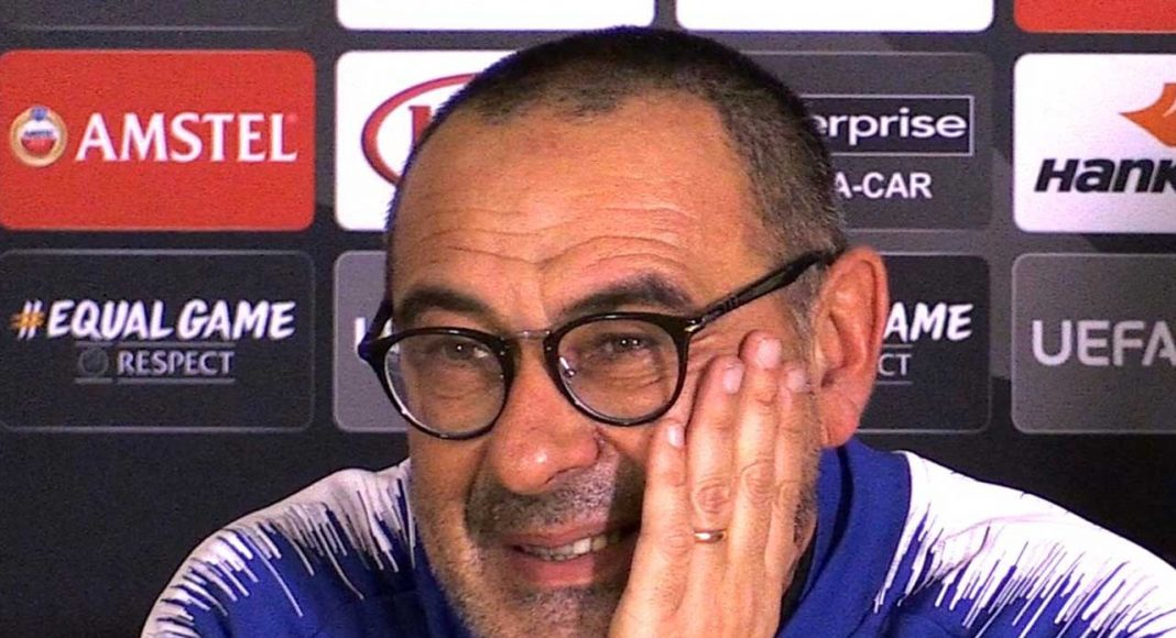 Sarri 'really angry' at Chelsea approach to Arsenal defeat