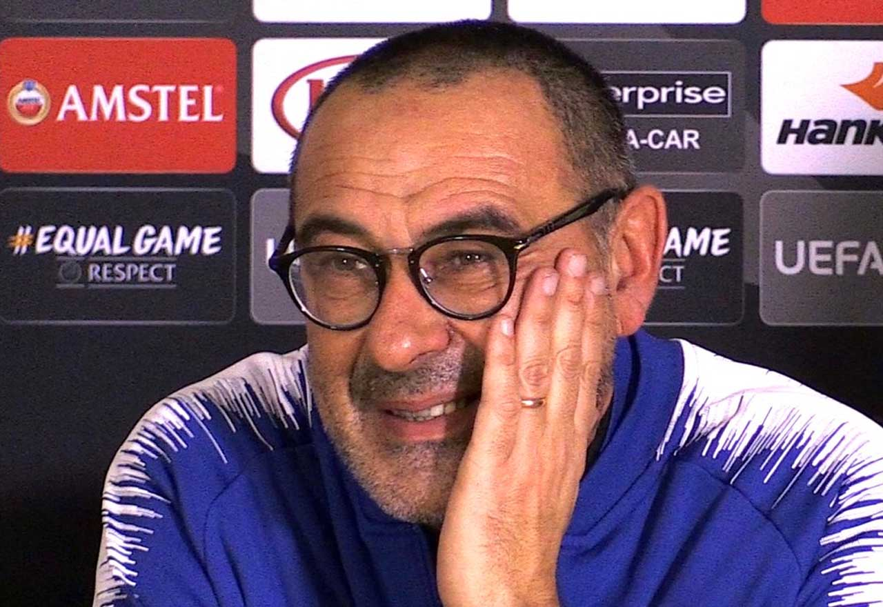 Maurizio Sarri gives (another) encouraging update on you-know-who during Arsenal presser