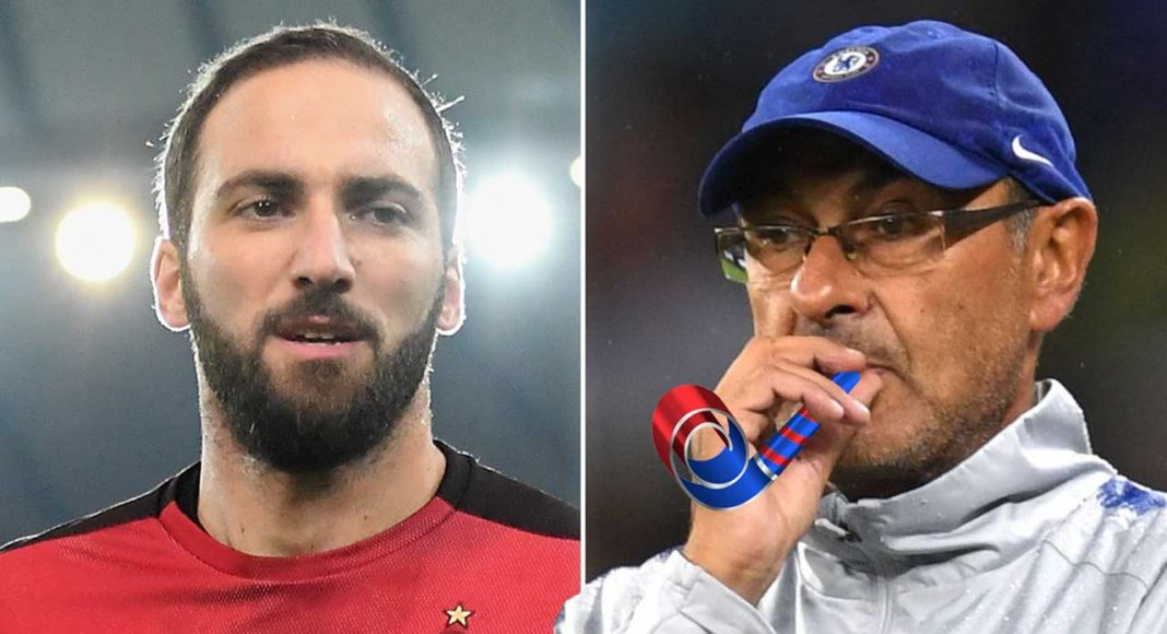 Gonzalo HIGUAIN close to leaving AC Milan and joining Chelsea