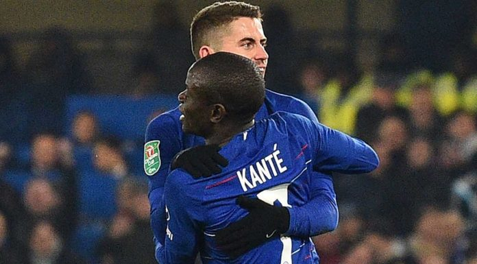 The stat which PROVES highly-criticised Jorginho works harder than N'Golo Kante