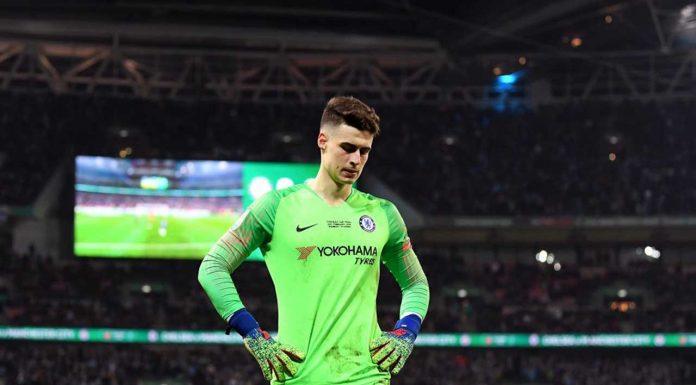 Chelsea could turn to England international to rival Kepa Arrizabalaga
