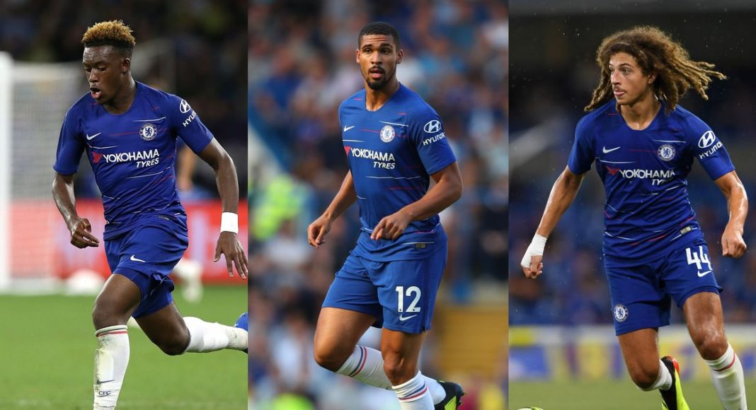 Hudson-Odoi, Loftus-Cheek & Ampadu