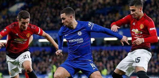 Eden Hazard Vs Manchester United