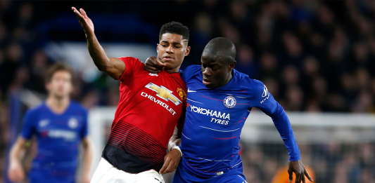 Ngolo Kante Vs Man Utd