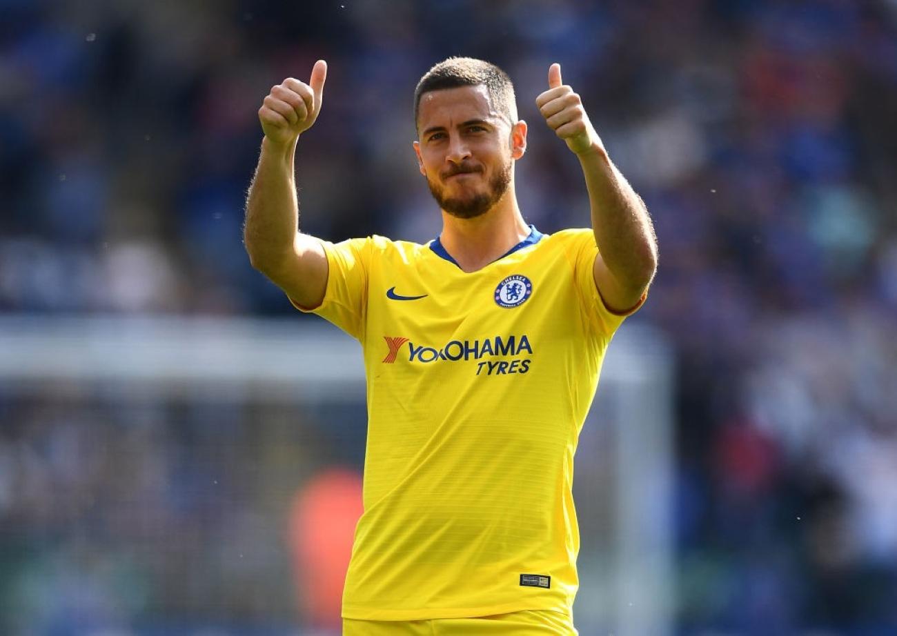 Eden Hazard Chelsea Clive Mason Getty Sport
