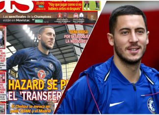 Eden Hazard Transfer Request