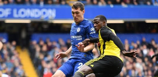 Andreas Christensen Watford Tackle Home Win New Kit