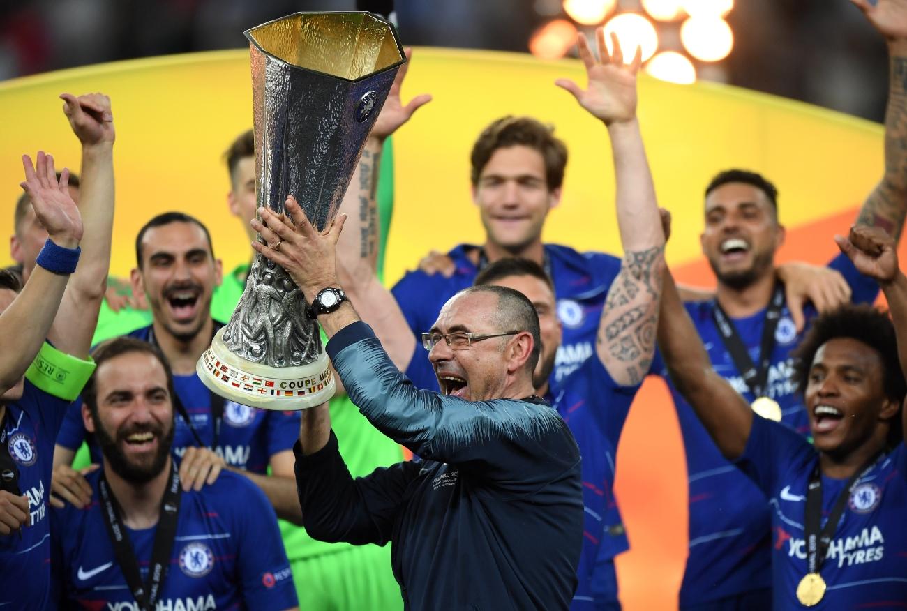 Maurizio Sarri Europa League