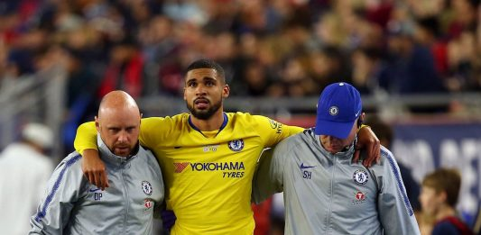 Rubne Loftus Cheek F Injury