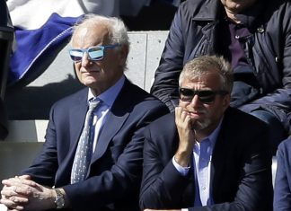 Bruce Buck Roman Abramovich Kerry Getty