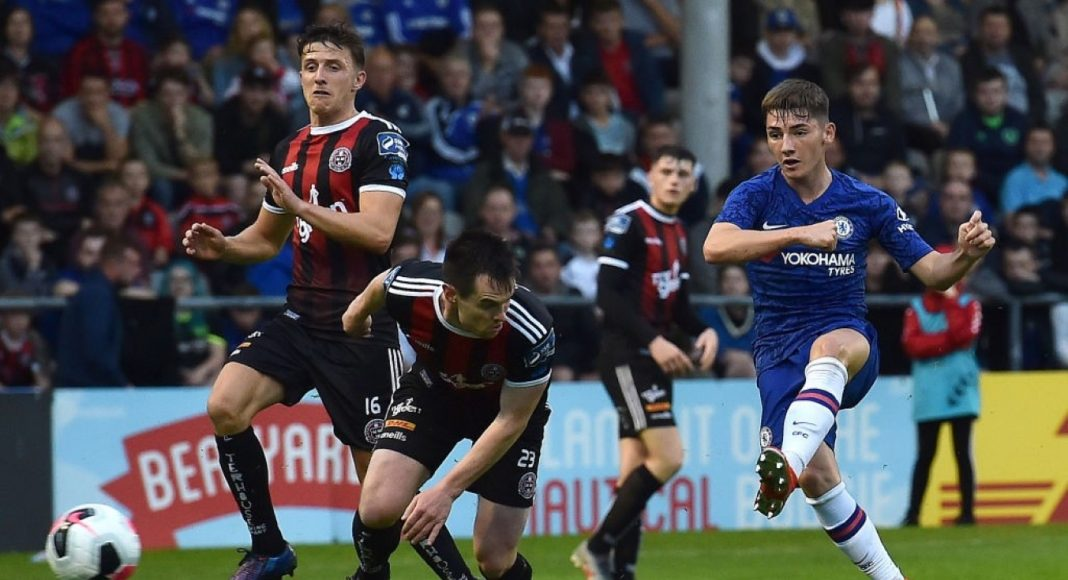 Billy Gilmour Debut In Kit