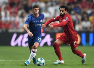 Christian Pulisic Liverpool Ozan Coze