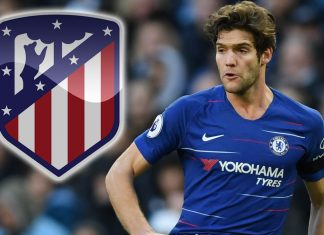 Marcos Alonso Atletco 34