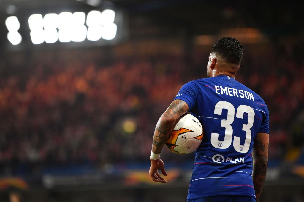 Emerson Palmieri vs Slavia Praha - Uefa Europa Leagu