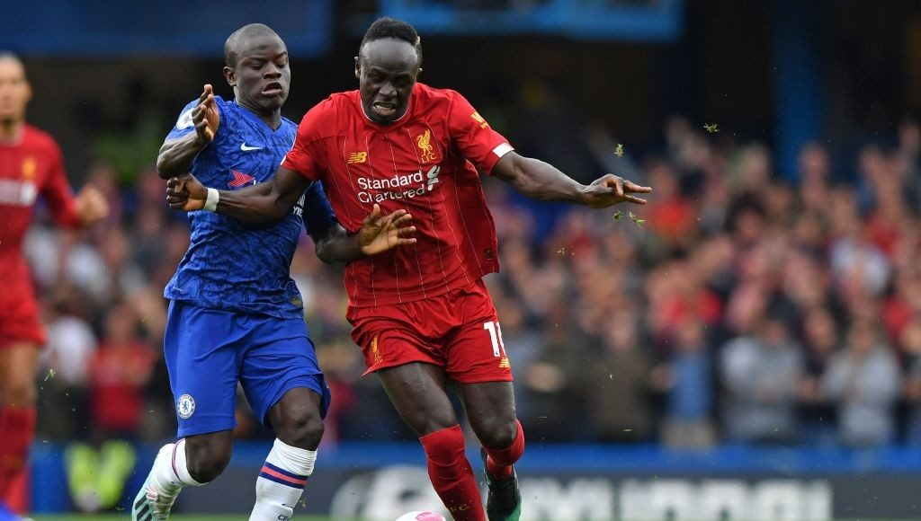 N'Golo Kante vs Liverpool