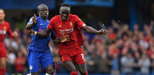 N'Golo Kante vs Liverpool