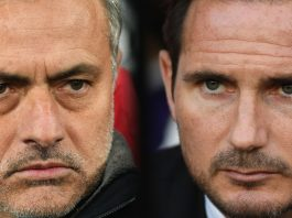 Getty Sport Michael Regan Jose Mourinho Frank Lampard