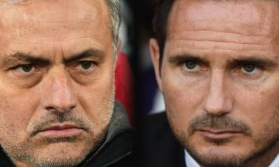Getty Sport Michael Regan Jose Mourinho Frank Lampard