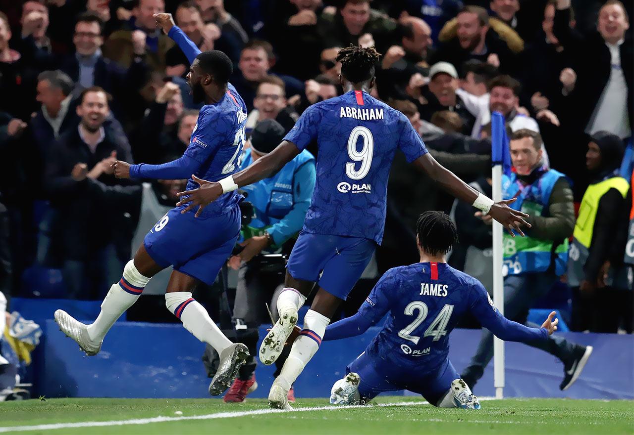 Chelsea V Ajax Celebrations