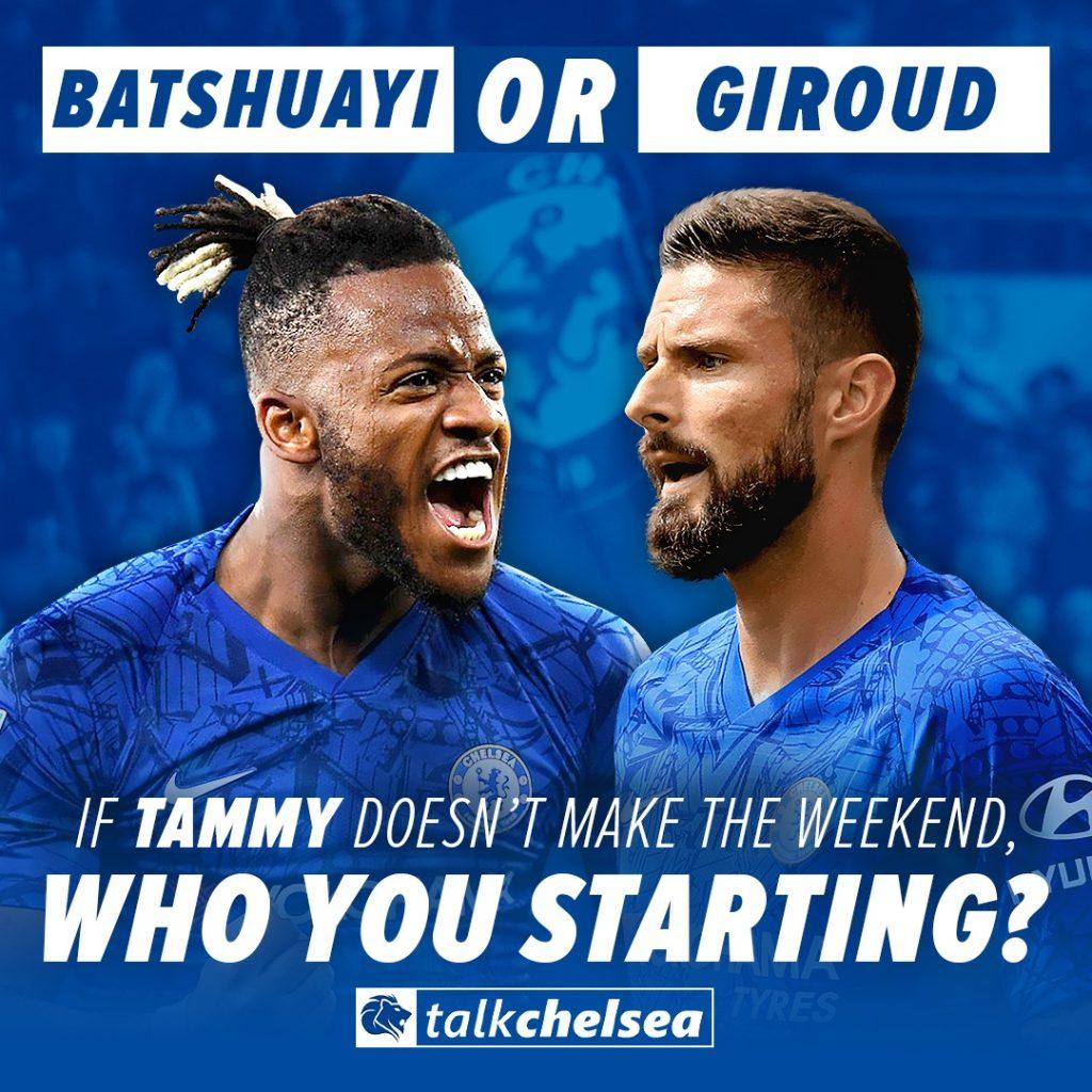 Giroud or Batshuayi