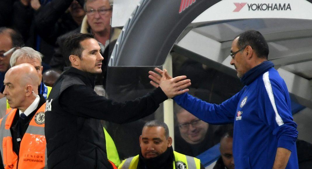 Frank Lampard/ Maurizio Sarri 3446576