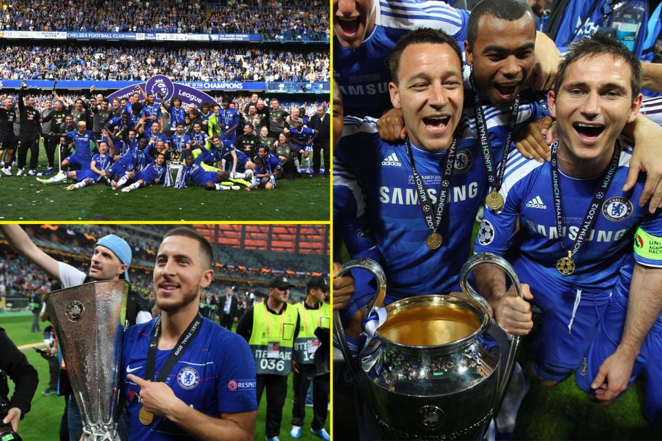 Talksport Chelsea Trophies