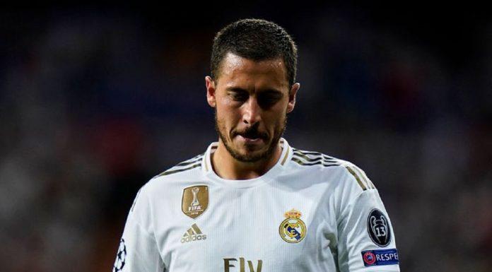 Eden Hazard Real Madrid 3434