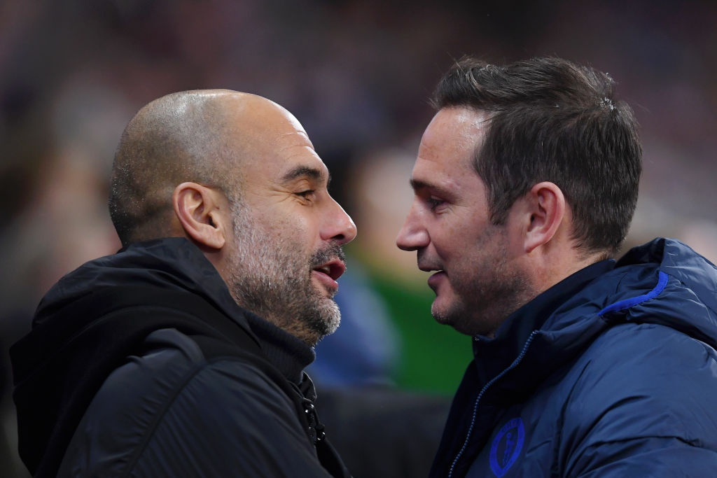 How Frank Lampard tactically out-foxed one of the greats in Pep Guardiola –  Talk Chelsea