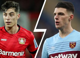 Kai Havertz / Declan Rice