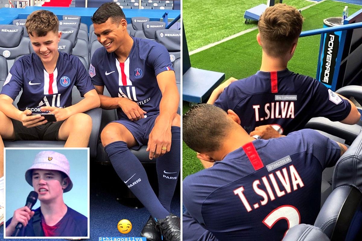 Alex Mann Thiago Silva