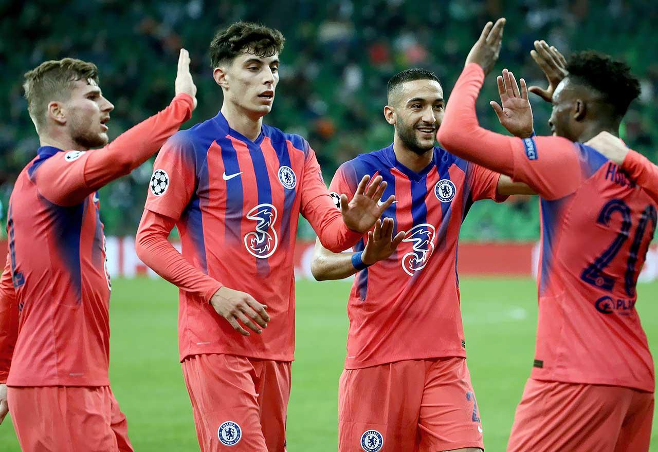 Krasnodar 0-4 Chelsea
