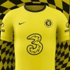 Chelsea Yellow Away Shirt