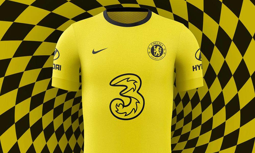 Chelsea Yellow Away Shirt