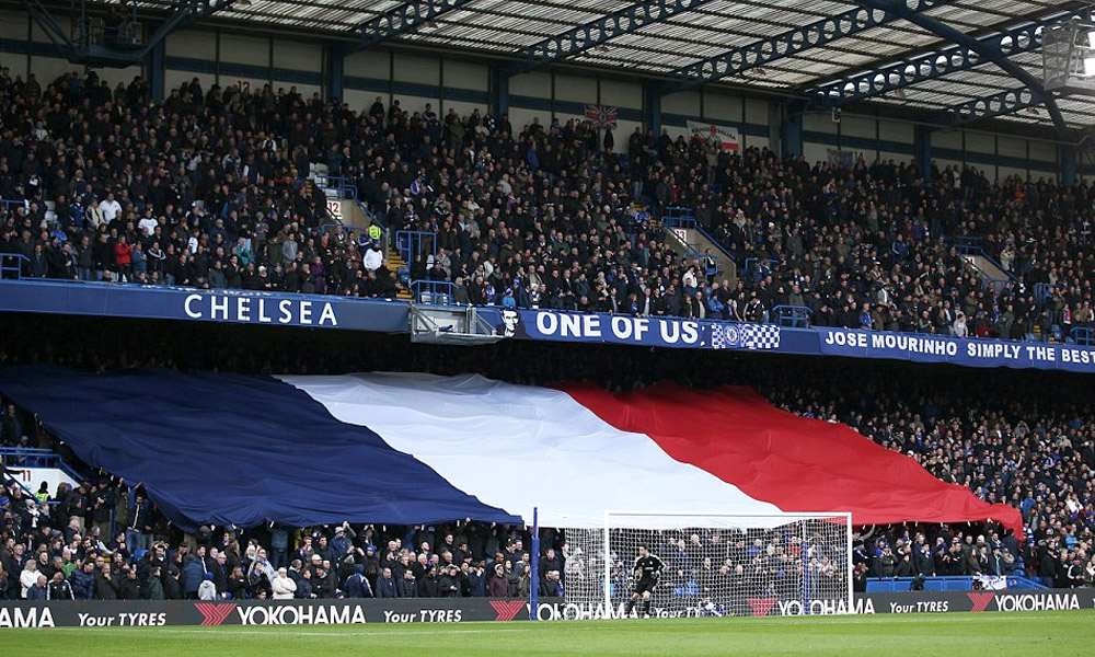 France Flag Stamford Bridge