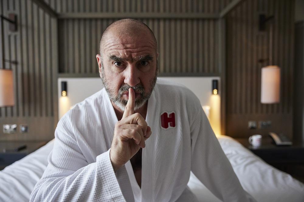 Eric Cantona Hotels.com Do Not Disturb Suite